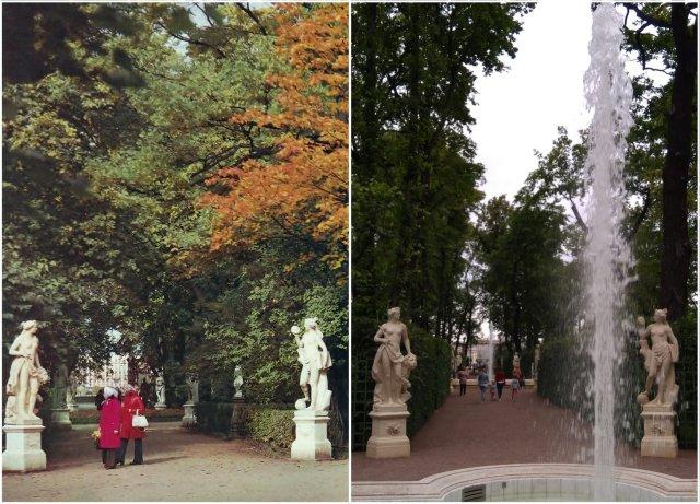 Летний Сад1988 и 2020