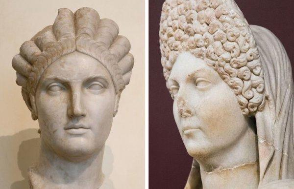 Римские бюсты