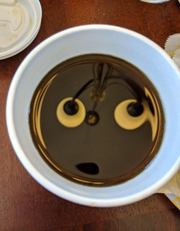 Удивленный кофе