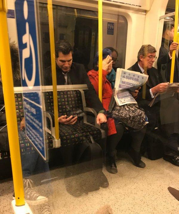 Призрак метро
