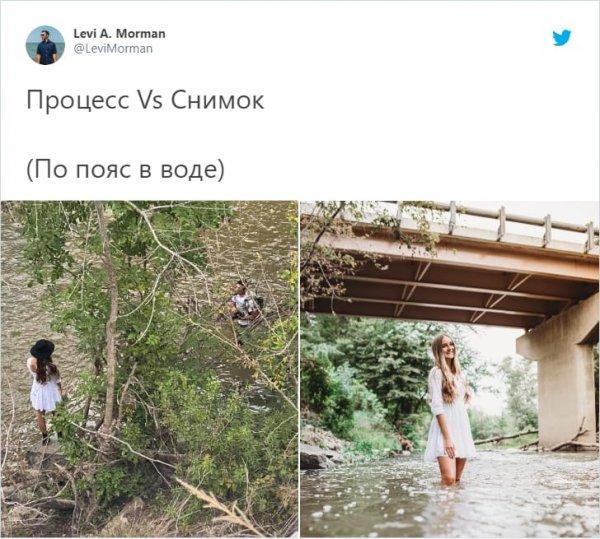 съемка в реке