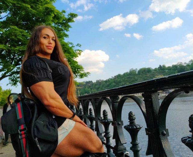 Наталья Трухина - российская спортсменка и бобибилдер.
