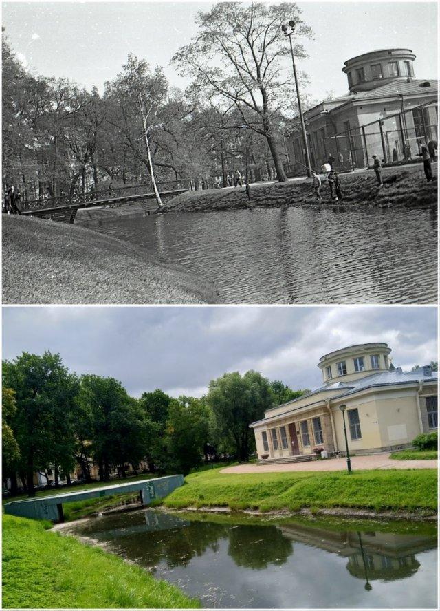Таврический Сад1967 и 2020 год.