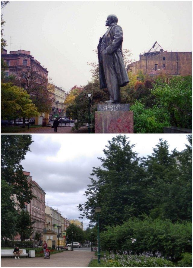 Таврический Сад1999 и 2020 год.