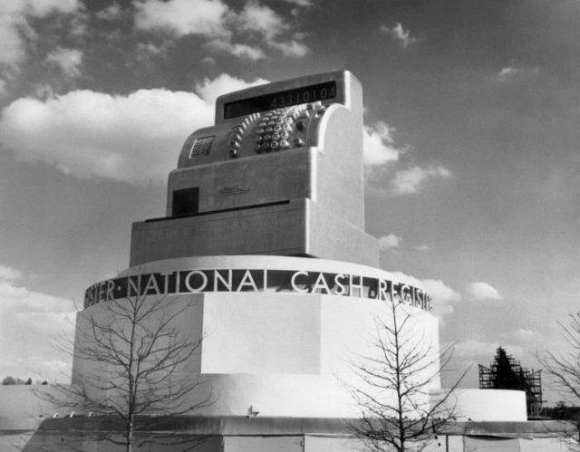 Павильон NCR на всемирной выставке 1939 года, США