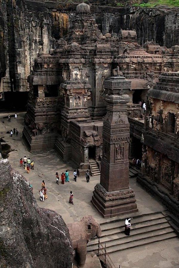 Храм Кайласанатха, Индия