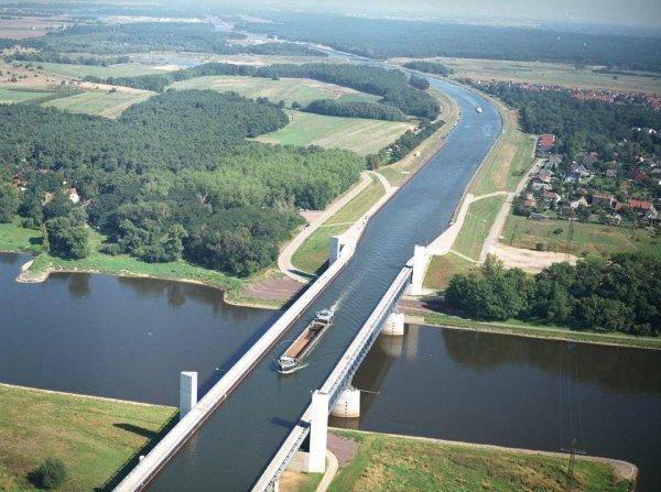 Магдебургский водный мост, Германия