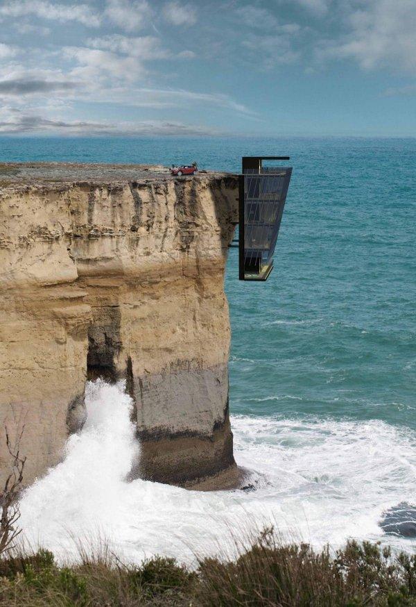 Дом на скале компании Modscape, Виктория, Австралия