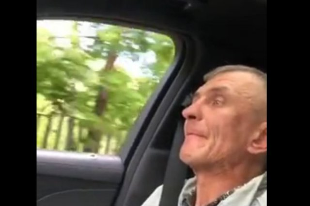 Забавный розыгрыш над пассажиром такси