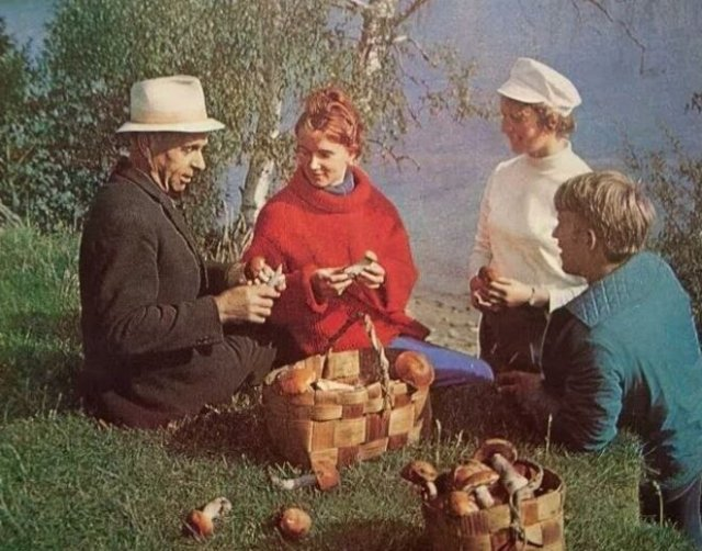 Атмосферные фотографии: осень в СССР
