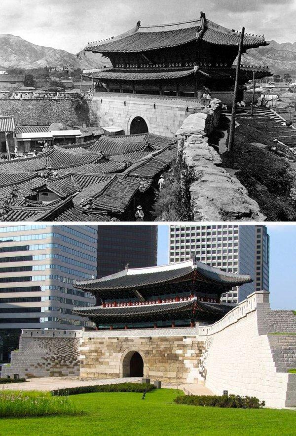 Ворота Суннемун в Сеуле, Южная Корея