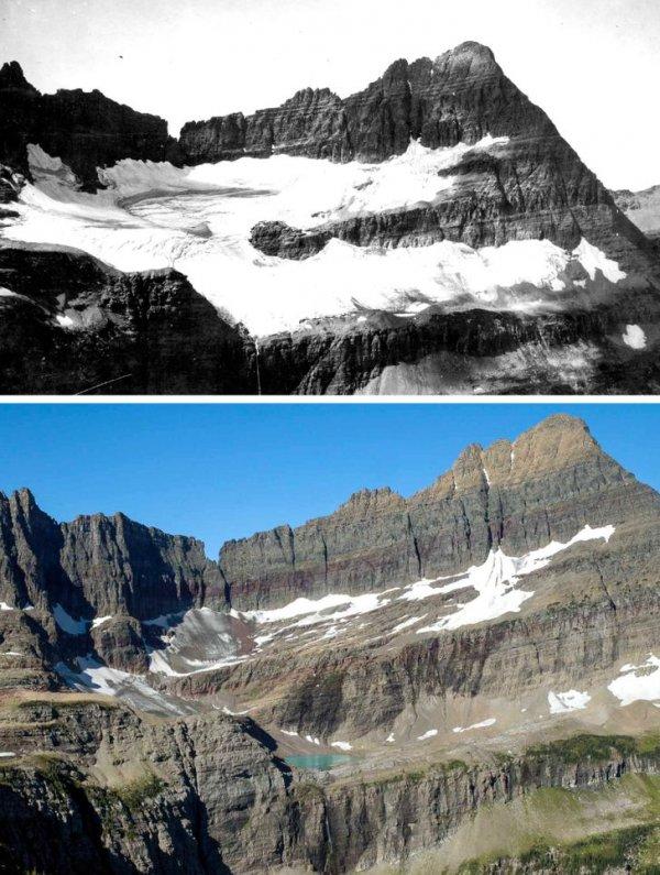 Ледник Шепарда, США