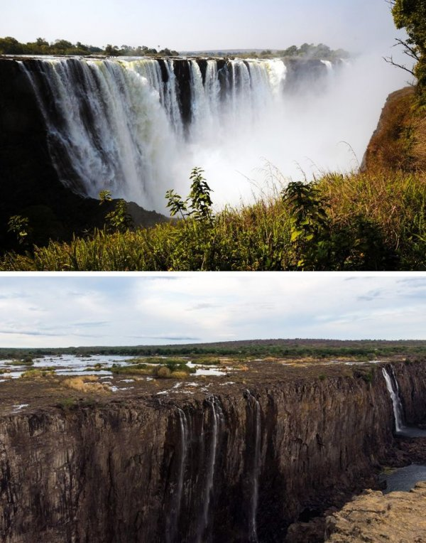 Район Мэйн-Фолс водопада Виктория
