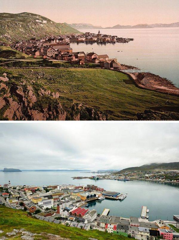 Город Хаммерфест, Финнмарк, Норвегия