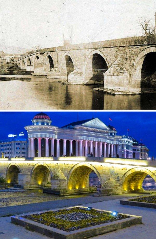 Каменный мост в Скопье, Северная Македония