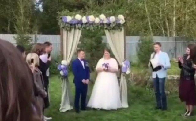 Типичная русская свадьба с неадекватной женой