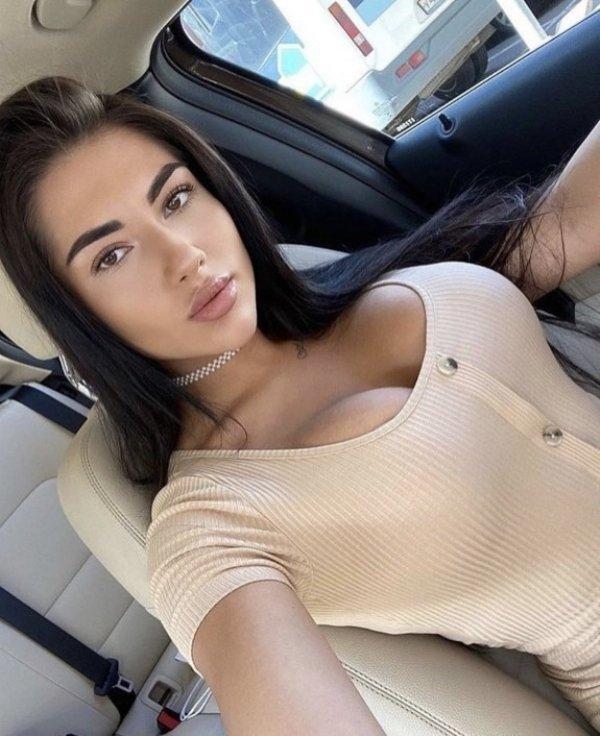 селфи в машине