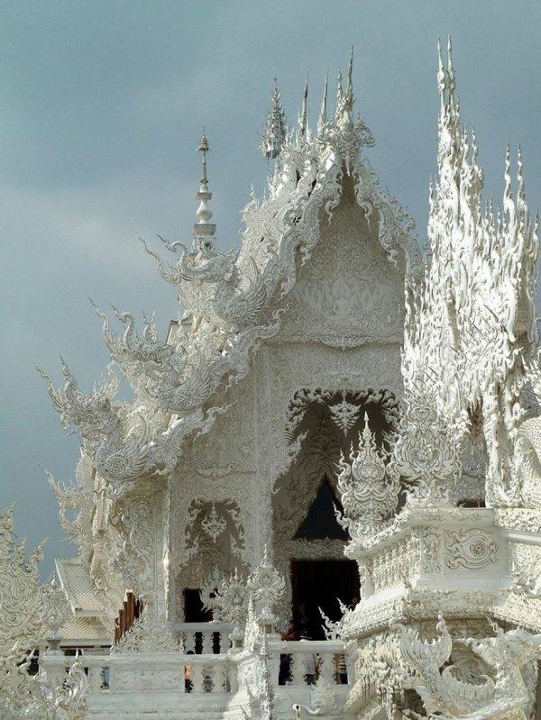 Ват Ронгкхун или «Белый храм», Таиланд