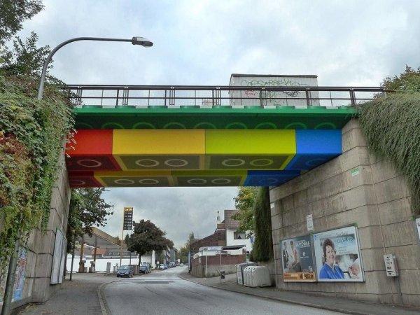 Лего-мост, Вупперталь, Германи