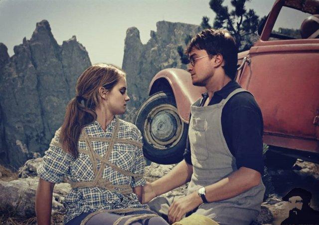 «Кавказская пленница» + герои фильмов о Гарри Поттере.