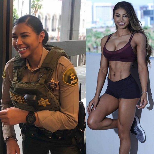 девушка шериф