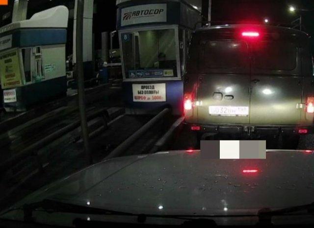 Как проехать по платной дороге бесплатно - почти