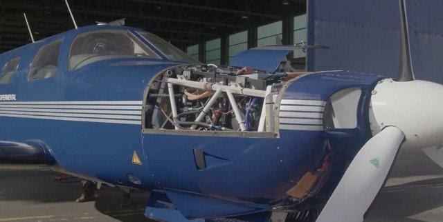 Первый самолет с водородно-элетрическим двигателем