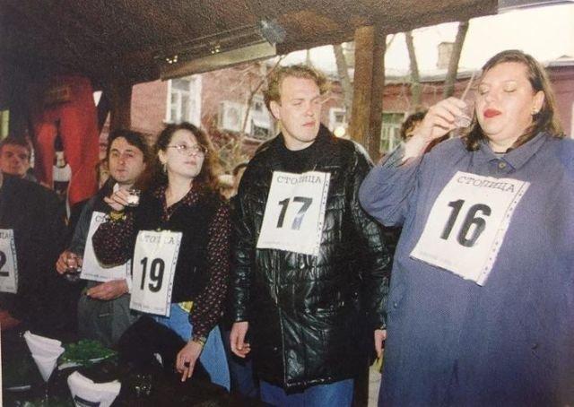 Чемпионат по спортивному выпиванию, 1997 год.