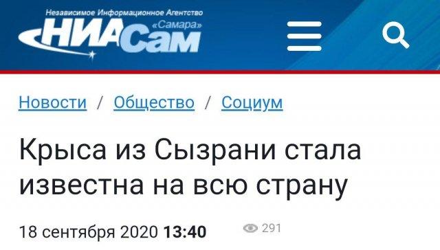 Зголовок про крысу
