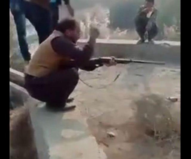 Выстрел, который сшибает с ног