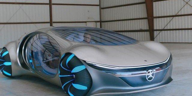 Mercedes-Benz Vision AVTR: он управляется джойстиком, а не рулем