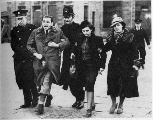 Депортация еврейской семьи, 31 марта 1939 года, Лондон