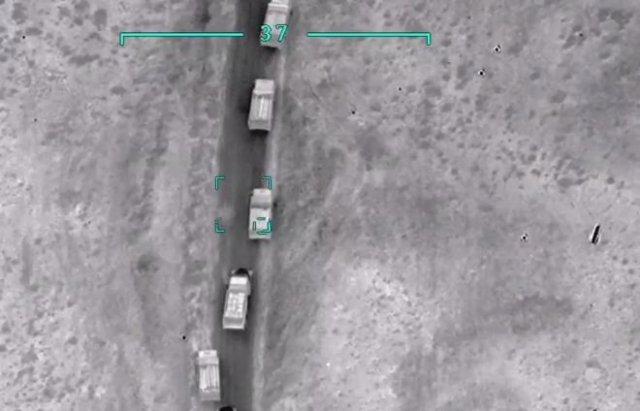 Военные кадры из Нагорного Карабаха - видео с азербайджанских дронов