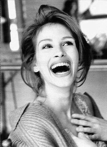 Обворожительная улыбка Джулии Робертс. 1993 год.