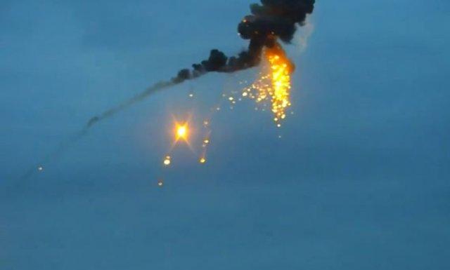 Минобороны Армении показало ликвидацию азербайджанского БПЛА ракетой