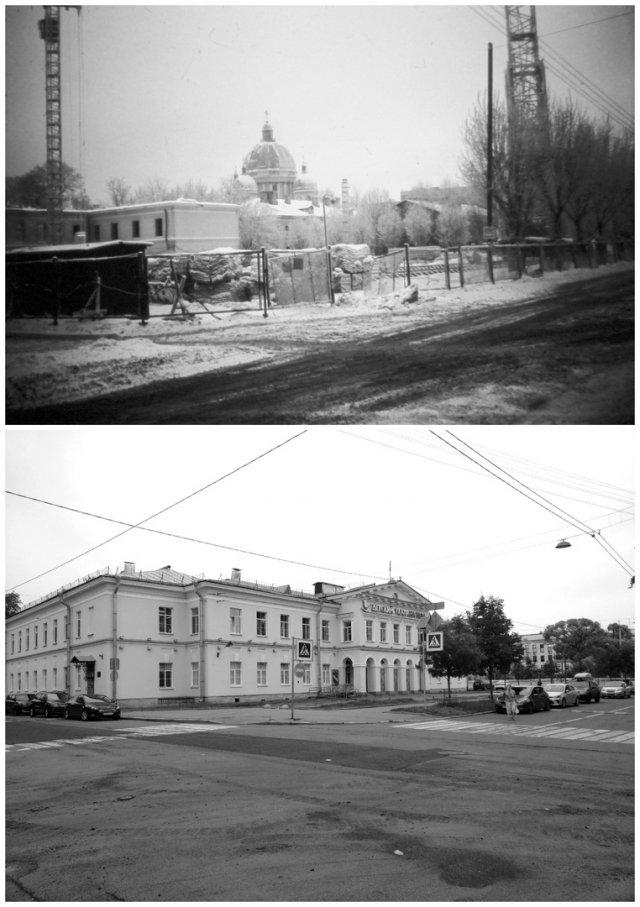 Советский переулок1988 и 2020 год.