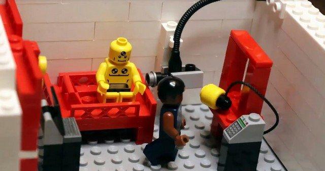 Краш-тест от Лего