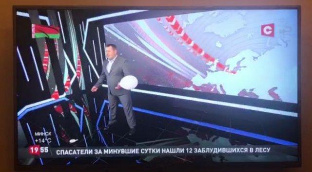 Безумие, которое происходит на белорусском телевидении