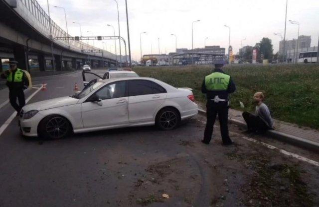 Наркодилер пытался уйти от полиции на скорости 240 км/ч