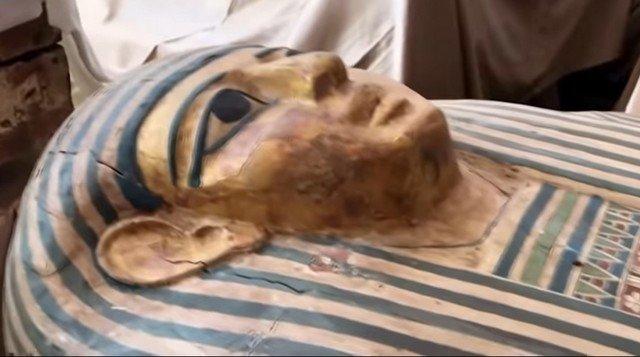 Саркофаг с 2500-летней мумией