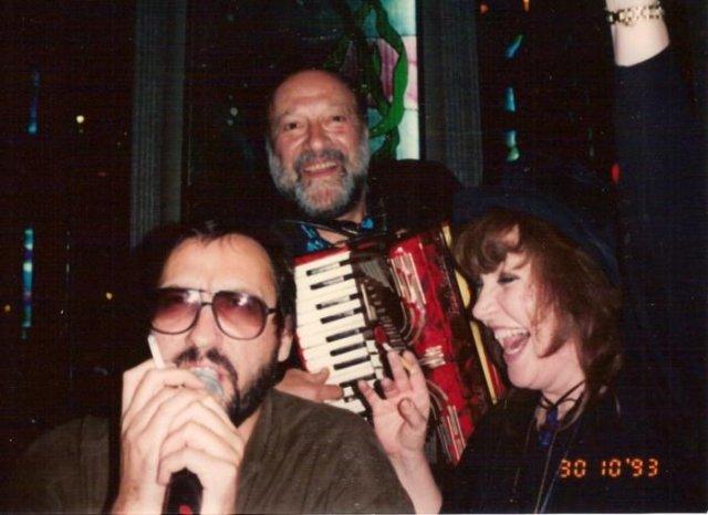 Александр Кальянов, Михаил Гулько и Алла Пугачева, 30 котября 1993 года, Брайтон–Бич