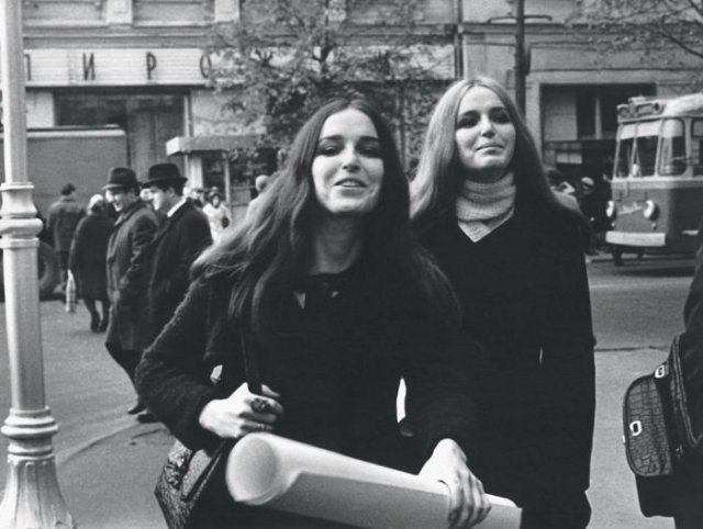 Студентки, 1970–е, СССР