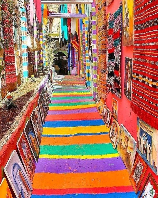 Удивительные улочки Марокко