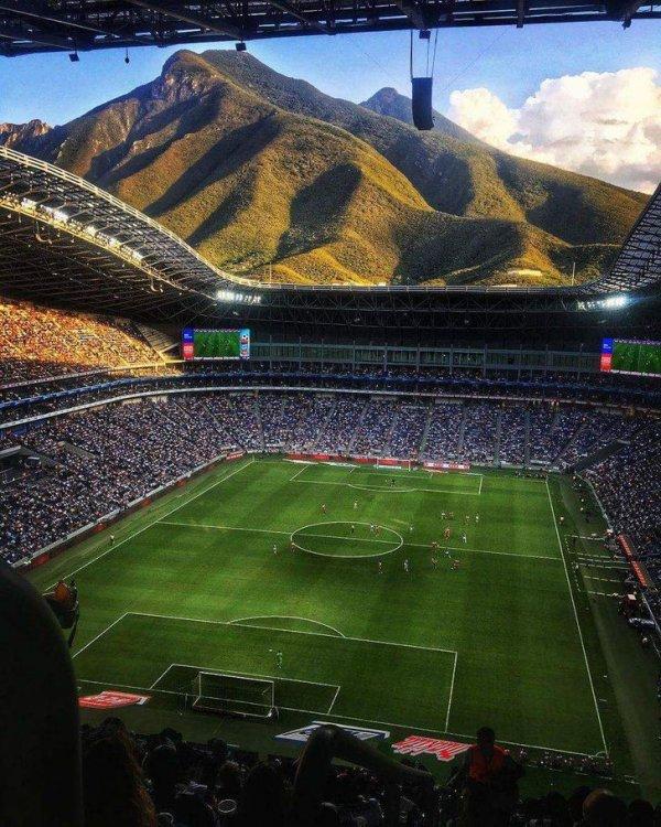 """Стадион """"Монтеррей"""" в Мексике"""