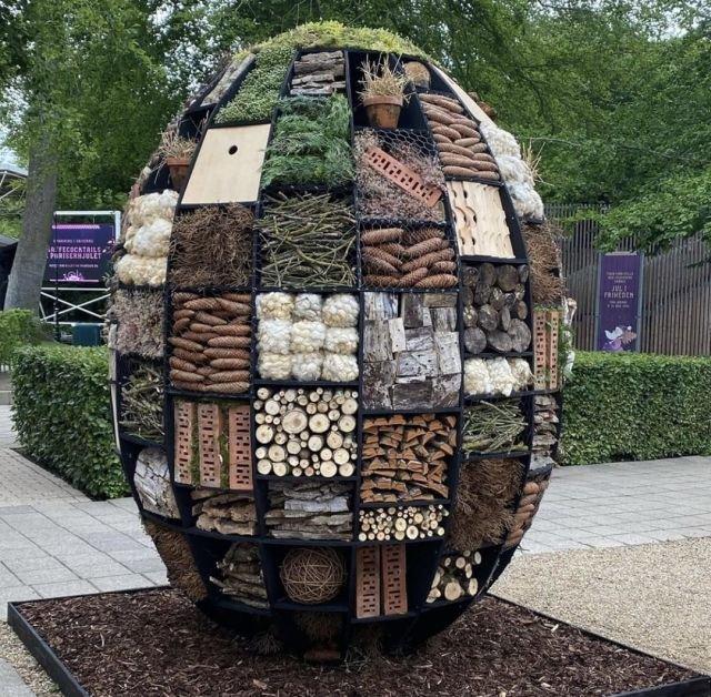 Гостиница для насекомых в Дании