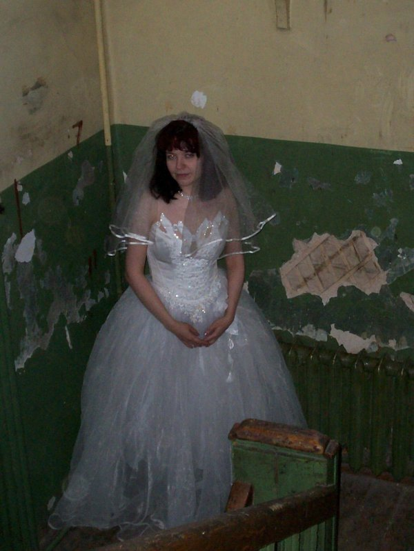 невеста в подъезде