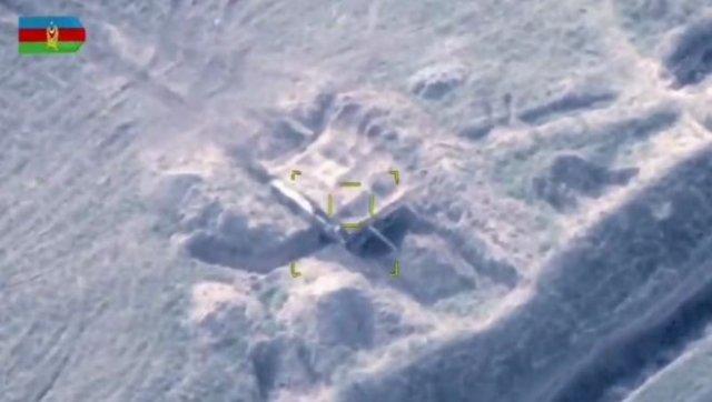 Военные видео из Нагорного Карабаха, снятые с дронов, от Министерства обороны Азербайджана