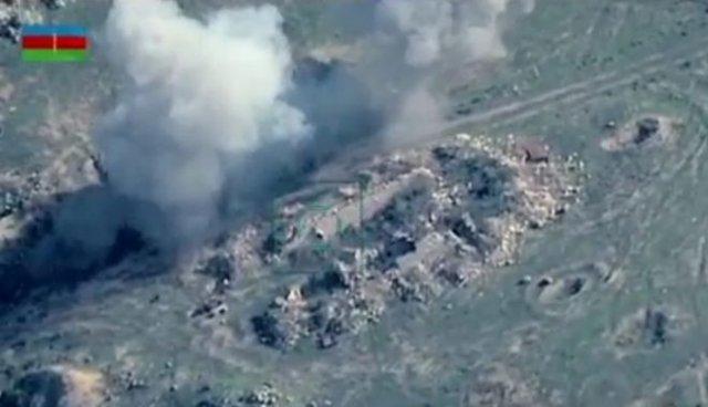 Военные видео с дронов от Министерства обороны Азербайджана