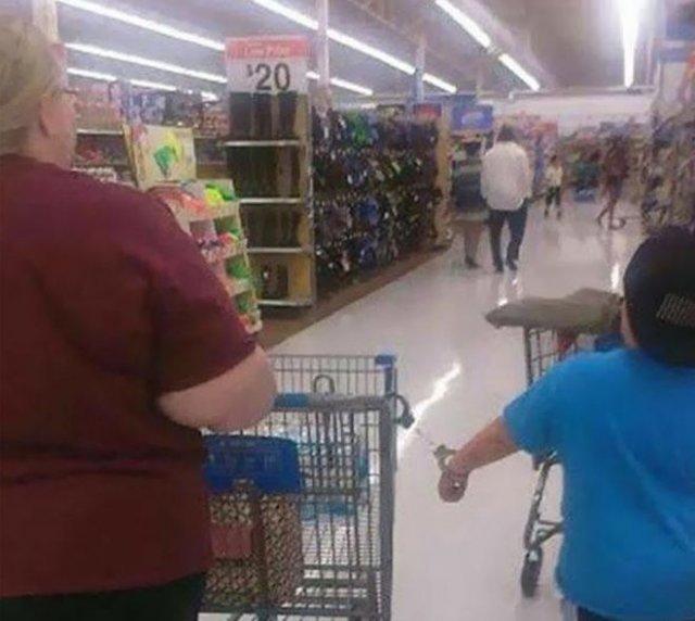 Странные ситуации, с которыми можно столкнуться в магазинах