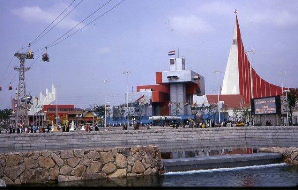 Выставка Osaka Expo 70 проходила в Японии